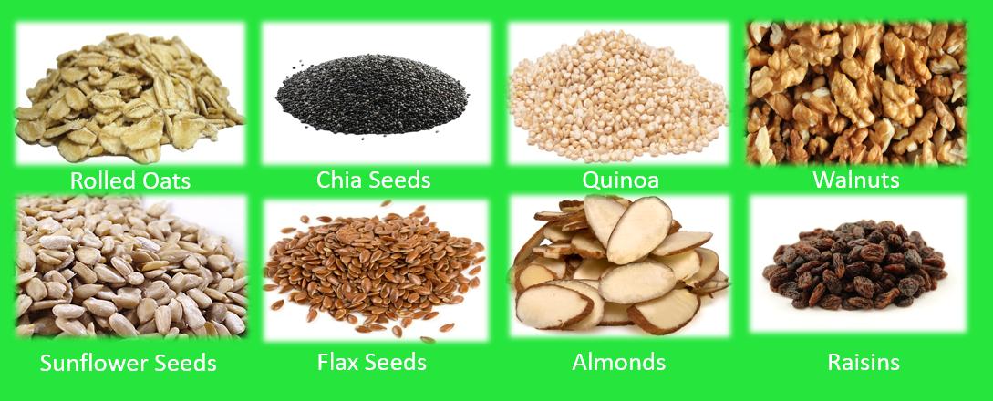 Muesliikon_Major_ingredients